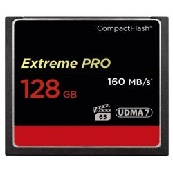 Extreme PRO 128GB Compact Flash Memory Card UDMA 7 Speed Up To 160MB/s