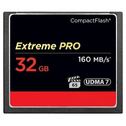 Extreme PRO 32GB Compact Flash Memory Card UDMA 7 Speed Up To 160MB/s