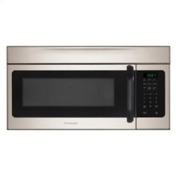 Frigidaire FFMV162LM - 1.6 Cu. Ft. Over-The-Range Microwave -Silver Mist
