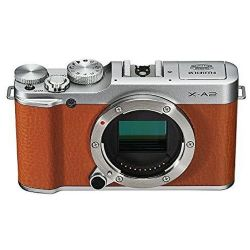 Fuji X-A2 Mirrorless Digital Camera (Brown Body only)