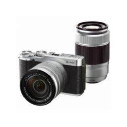 Fujifilm X-A2 Kit with 16-50mm II and 50-230mm Lenses Silver