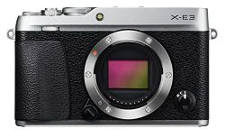 Fujifilm X-E3 Mirrorless Digital Camera (Body Only) - Silver