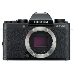 Fujifilm X-T100 Mirrorless Digital Camera (Body Only, Black)