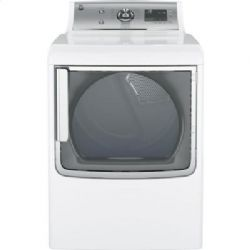 GE(R) 7.8 cu. ft. capacity electric dryer