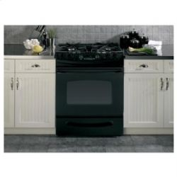 "GE(R) 30"" Slide-In Gas Range"