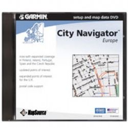 MapSource City Navigator Europe