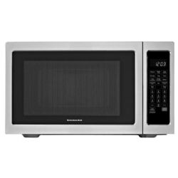 KitchenAid 1200W Convection Microwave and Grill - 1.5 cu ft - Stainless Steel