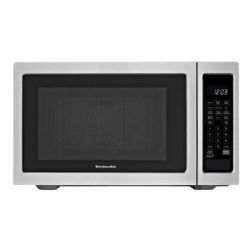 KitchenAid KCMS1655BSS 1200W Built-In Microwave - 1.6 cu ft - Stainless Steel