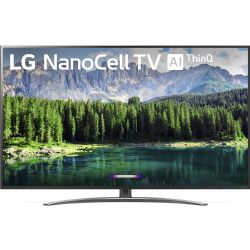 "LG 75SM8670PUA 75"" Class HDR 4K UHD Smart NanoCell IPS LED TV"