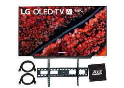 "LG OLED65C9PUA C9 65"" Class HDR UHD Smart OLED TV MOUNT BUNDLE"