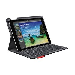 Logitech Type+ Protective iPad Air 2 Case with Integrated Keyboard - Two Viewing Positions - Designed for Typing and Tapping - Powered with Wireless Bluetooth - 30-Foot Wireless Range - Black