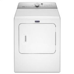 White Maytag(R) Dryer with Rapid Dry Cycle - 7.0 cu. ft.