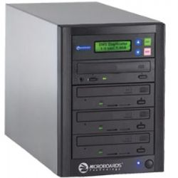 QD-DVD-123 1 to 3 Quic Disc CD/DVD Duplicator w/ Dual-Layer DVD Support