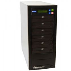 QD-DVD-125 1 to 5 Quic Disc CD/DVD Duplicator w/ Dual-Layer DVD Support