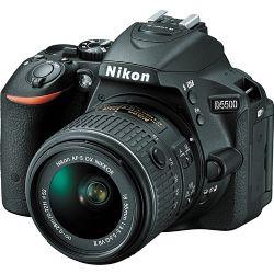Nikon D5500 DSLR Camera with 18-55mm Lens (Black)