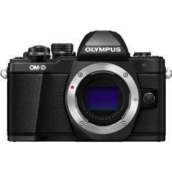 Olympus OM-D E-M10 Mark II Mirrorless Micro Four Thirds Digital Camera (Body Only, Black)