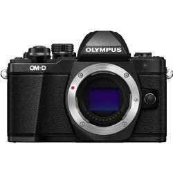 Olympus OM-D E-M10 Mark II Mirrorless Micro With Zuiko Digital ED 12-40mm f/2.8 PRO Lens (Black)