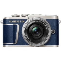 Olympus PEN E-PL9 Mirrorless Micro Four Thirds with 14-42mm Lens (Blue)