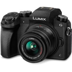 Panasonic Lumix DMC-G7 Mirrorless  with 14-42mm Lens Black