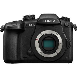 Panasonic Lumix G DC-GH5 Mirrorless Ultra HD Digital 4K Body Only