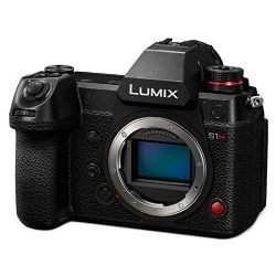 PANASONIC LUMIX S1H Digital Mirrorless Video Camera with 24.2 Full Frame Sensor, 6K/24p Video Recording Capability, V-Log/V-Gamut, and Multi-Aspect Recording