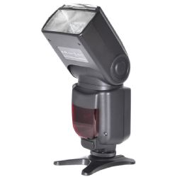 Professional Bounce, Zoom, Swivel, TTL Flash for Nikon with Backlit LCD Screen