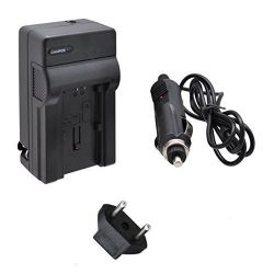 Quick AC/DC Charger with EU Plug and CAR Adapter