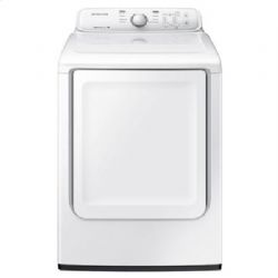 DV3000 7.2 cu. ft. Electric Front Load Dryer with Moisture Sensor (White)