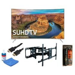"Samsung UN65KS8500-Series 65"" Smart Curved LED TV Bundle"