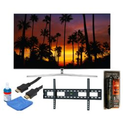 "Samsung UN65KS9500F 65"" Curved LED Smart TV 4K UltraHD TV Bundle"