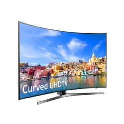 "Samsung UN65KU7500 - 65"" Curved LED Smart TV - 4K UltraHD"