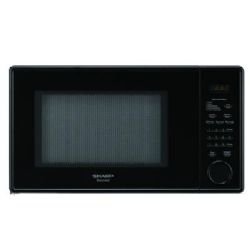 Sharp Carousel R-309YK 1000W Microwave - 1.1 cu ft - Smooth