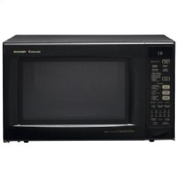 Sharp R930AK - 1.5 Cu. Ft. Countertop Microwave Oven - Black