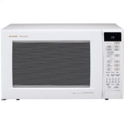 Sharp R930AW - 900 Watt 1.5 Cu. Ft. Convection Microwave Oven - White