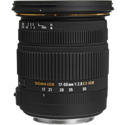 Sigma EX Zoom Lens for Canon EF - 17mm-50mm - F/2.8