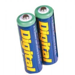 2 pack of NIMH AA Rechargeable Batteries