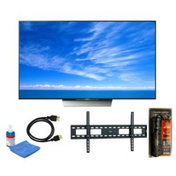 "Sony XBR-85X850D Series 85""-Class HDR 4K Smart LED TV Bundle USA MODEL"