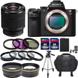Sony Alpha a7 II With FE 28-70mm f/3.5-5.6 OSS Lens Glass Pro Bundle