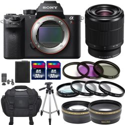 Sony Alpha a7R II With FE 28-70mm f/3.5-5.6 OSS Lens Pro Bundle