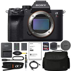 Sony Alpha a7R IV Mirrorless Digital Camera (Body Only) (ILCE7RM4/B) + AOM Pro Starter Bundle Kit