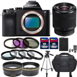 Sony Alpha a7R Mirrorless + Sony FE 28-70mm f/3.5-5.6 OSS Lens