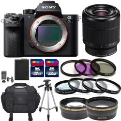 Sony Alpha a7S II With FE 28-70mm f/3.5-5.6 OSS Lens Glass Pro Bundle