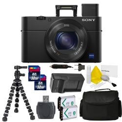 Sony Cyber-Shot DSC-RX100 IV Digital Camera PRO Bundle Kit