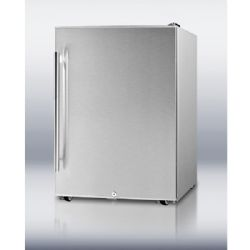 "Summit 24"" Outdoor Refrigerator with 4.8 cu. ft. Capacity,"