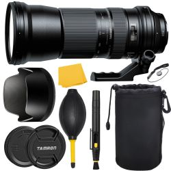 Tamron SP 150-600mm f/5-6.3 Di VC USD Lens for Canon + MORE
