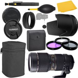 Tamron SP 70-200mm f/2.8 Di VC USD Zoom Lens for Canon + MORE