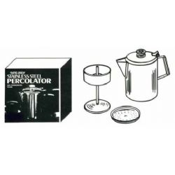 406 2-6 CUP STAINLESS STEEL PERCOLATOR