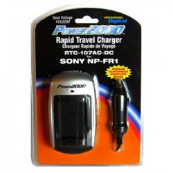 RTC107 Rapid travel charger for NP-FR1