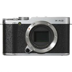 Fuji X-A2 Mirrorless Digital Camera (Silver Body Only)
