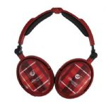 XNC230R  Extreem Foldable Active Noise Canceling Headphones - Red